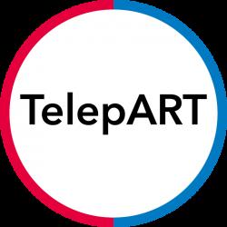 TelepART logo
